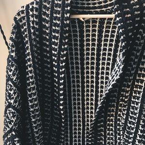 Anthro knit cardigan